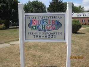 Levittown PreSchool Sign