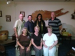 Pastor Terri with Members of the FPC Session