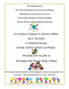 Sunday School Invite