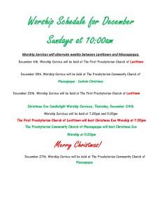 December Worship Service