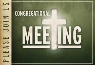 Congregational Meeting 2016