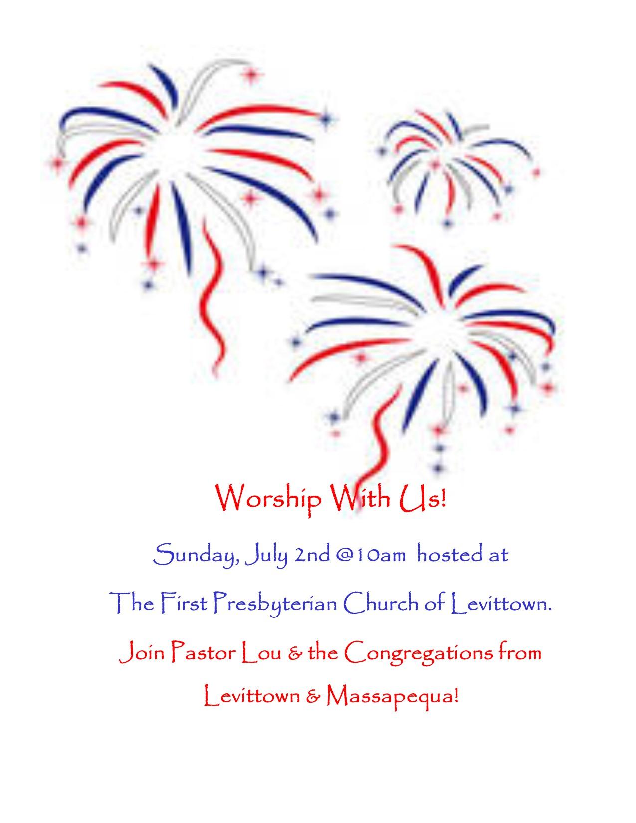 July 2 Worship