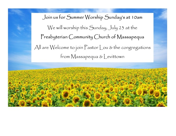 Sunday July 23