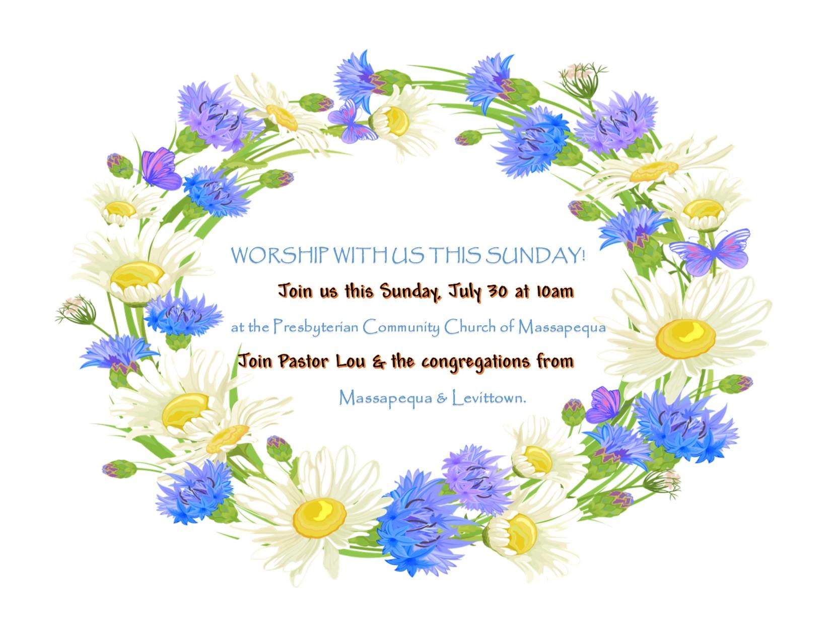Worship July 30