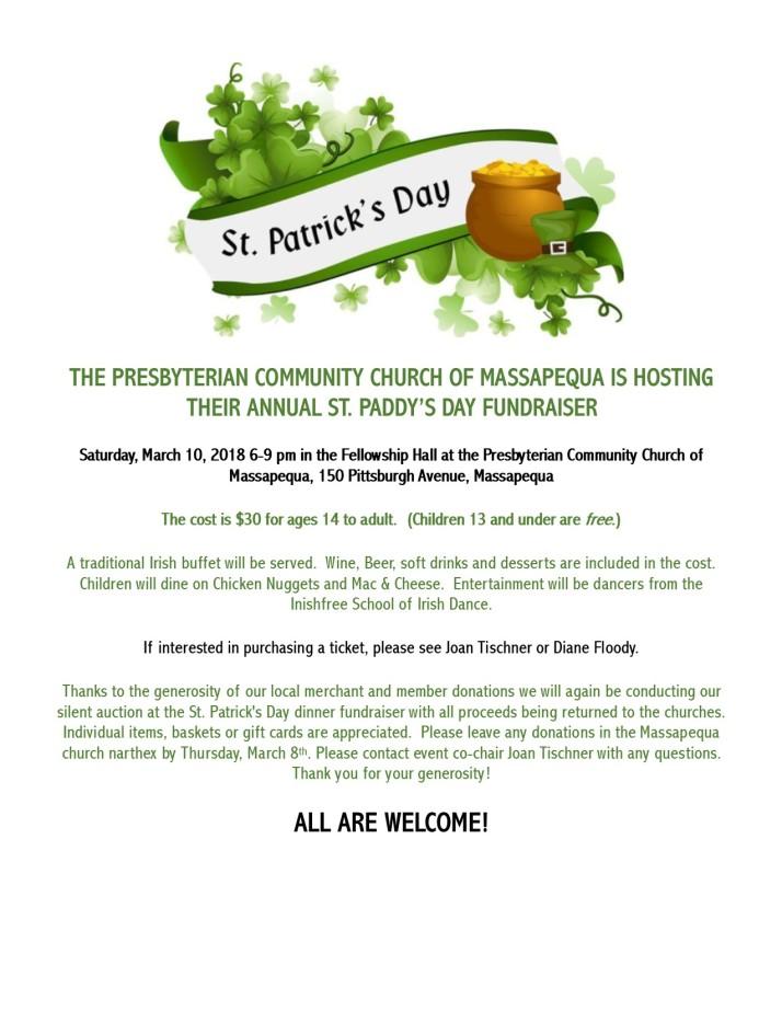 St Patrick's Day 3-18