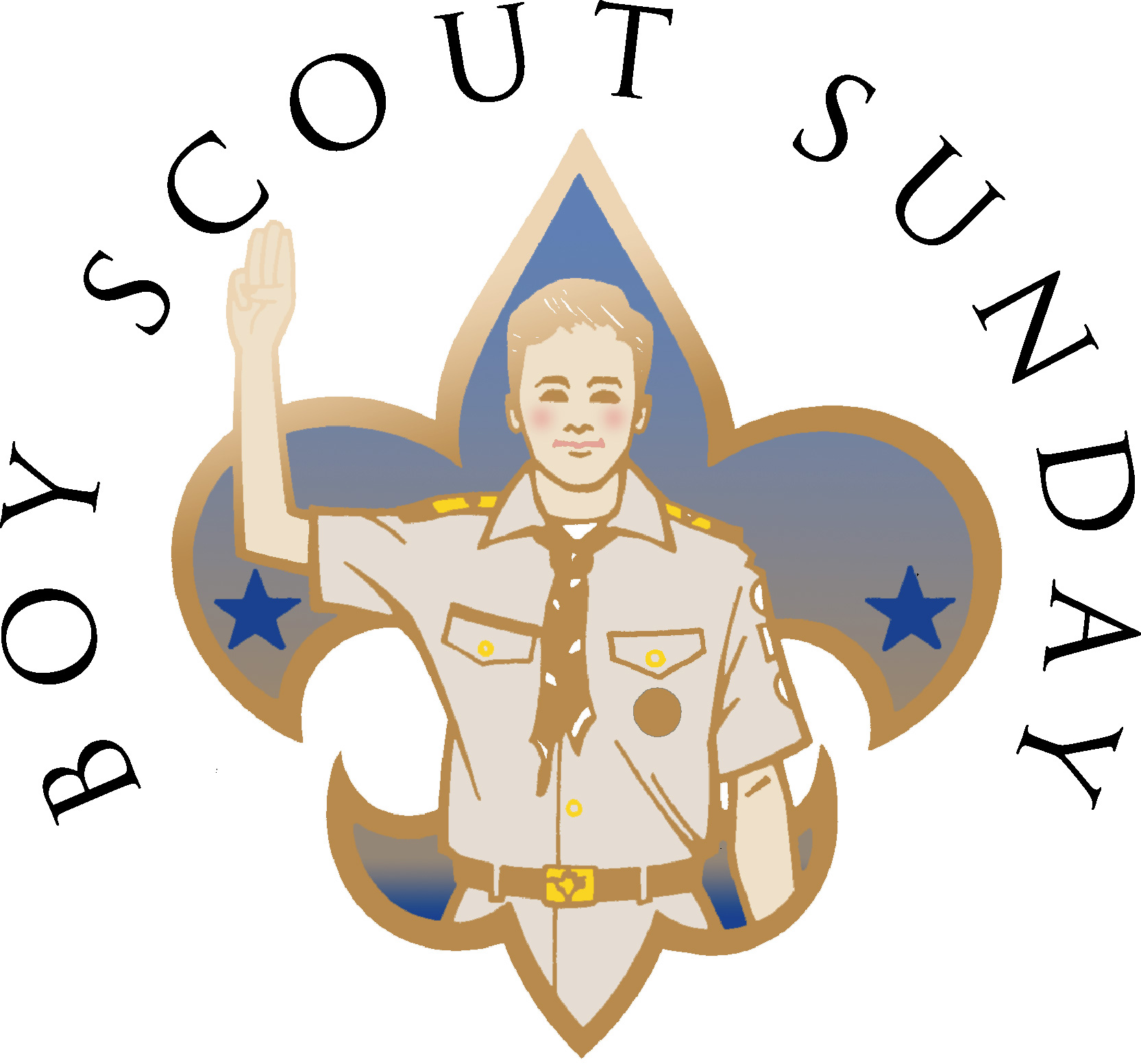 boy scout sunday